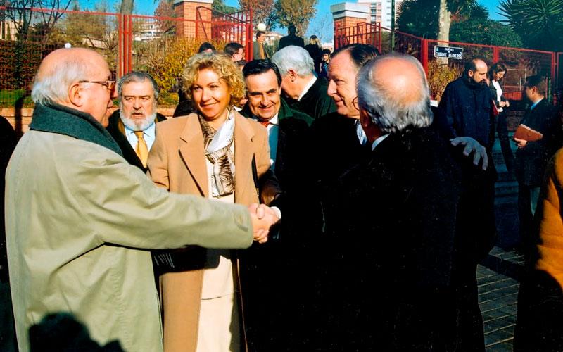 INAUGURACIÓN DEL PRIMER PARQUE PARA MAYORES DE ESPAÑA
