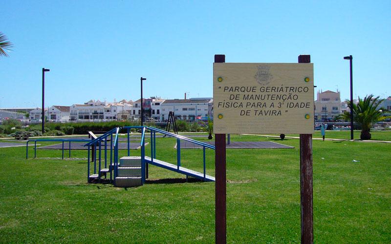 PARQUE PARA MAYORES EN TAVIRA, PORTUGAL