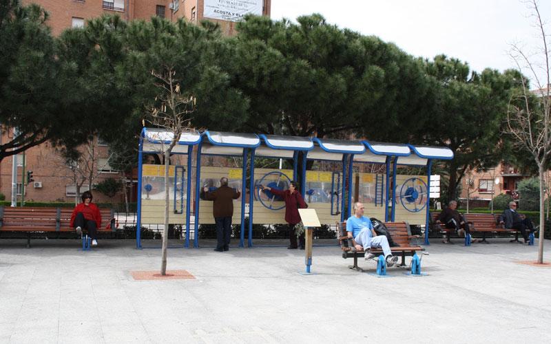 PARQUE PARA MAYORES EN MADRID