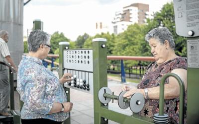 BILBAO PRUEBA DOS PARQUES PIONEROS EN EUROPA CON JUEGOS DE MEMORIA PARA LOS MAYORES
