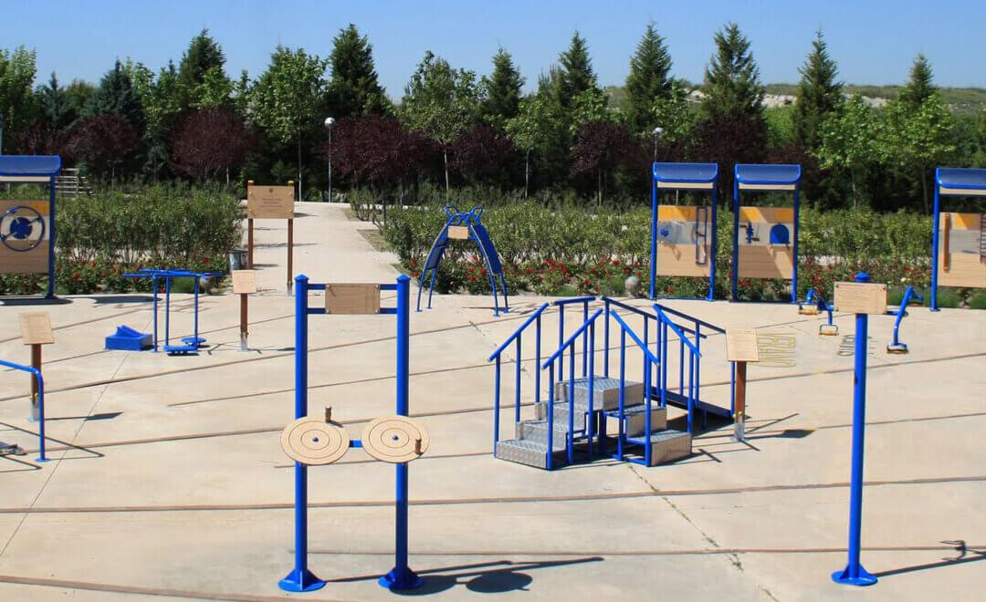 Los mejores parques para mayores para la rehabilitación.